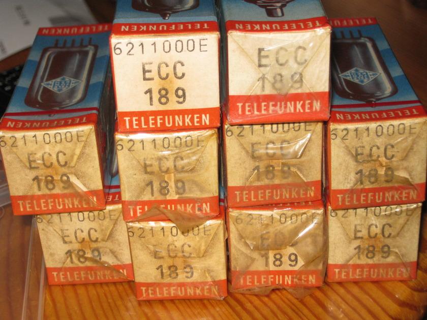 Telefunken ECC189 Nos