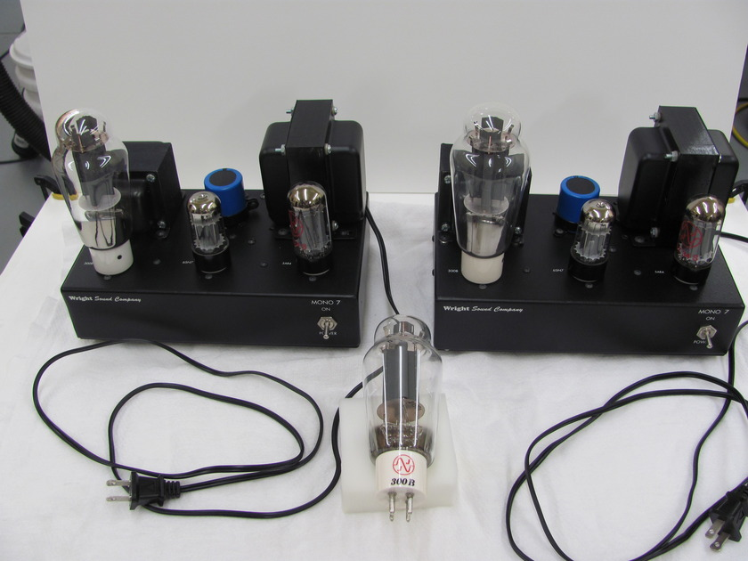 Wright Sound Mono 7 Block Power Amplifiers