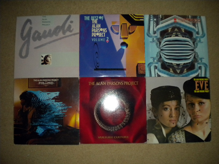 6 Lp Alan Parsons Project Lot,  - Progressive Rock - no resv