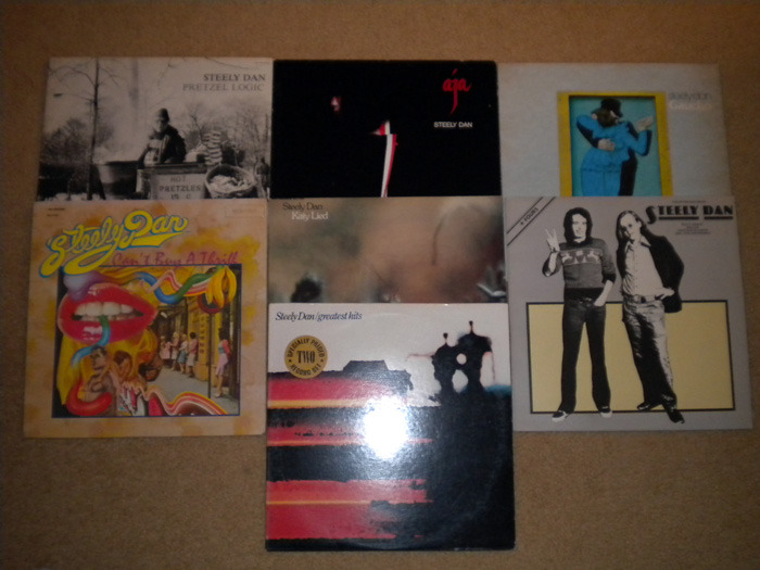 8-Lp Steely Dan Lot, - Exc. Cond,  No Reserve