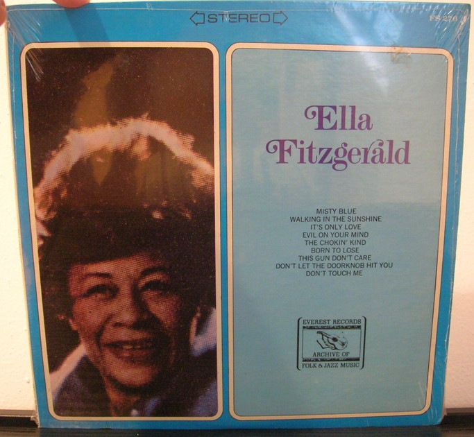 Ella Fitzgerald - Everest FS 276 Sealed Stereo LP