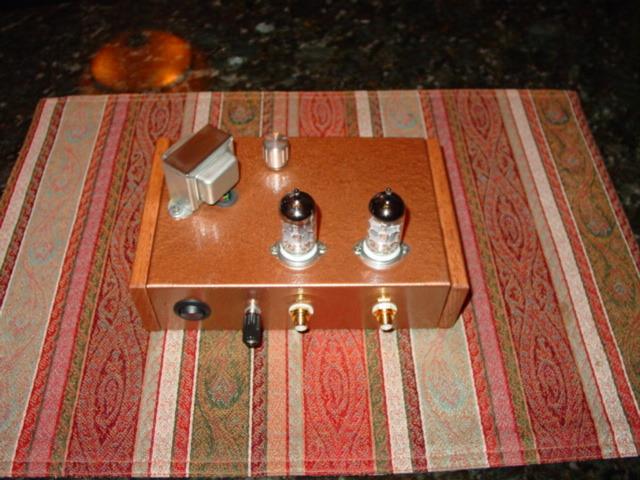 Phono Tube Pre Amp Stereo 12ax7