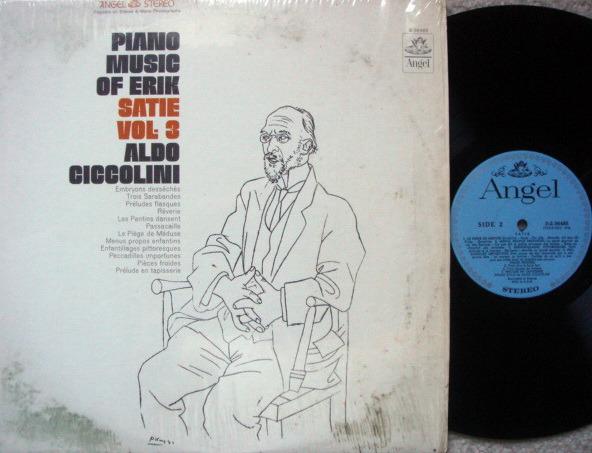 EMI Angel Blue / CICCOLINI,  - Satie Piano Music Vol.3,  MINT!