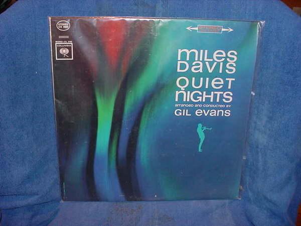 Miles Davis - Quiet Nights gil evans columbia cs-8906
