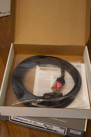MIT Magnum Z3 AC Cable 2M Perfect NIB with Warranty