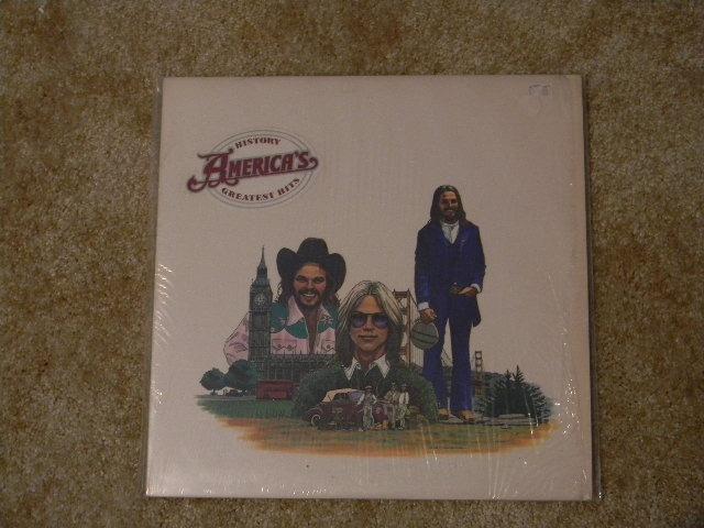 AMERICA   - History Americas Greatest Hits Sealed