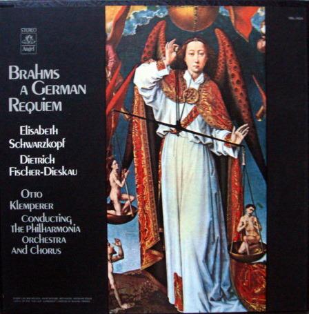 EMI Angel / KLEMPERER, - Brahms A German Requiem,  MINT, 2LP Box Set!