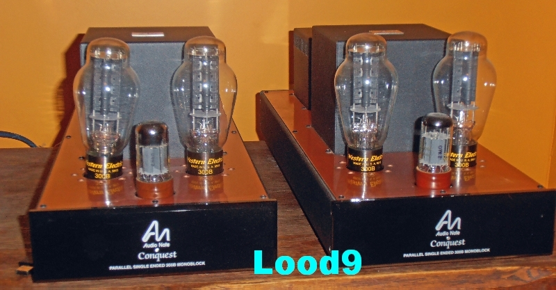 Audio Note  Conquest Silver Signature with 4 x Western Electric  300B