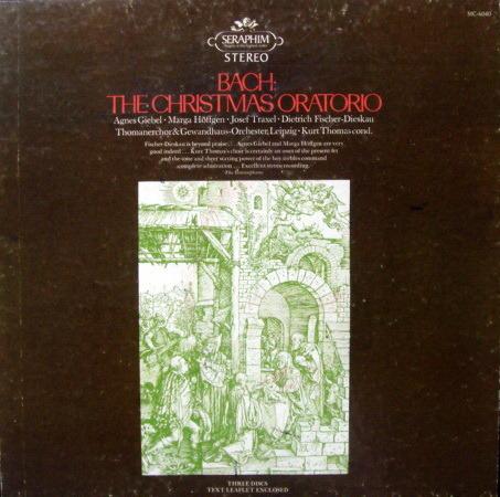 EMI Angel Seraphim / THOMAS, - Bach Christmas Oratorio,  NM-, 3LP Box Set!