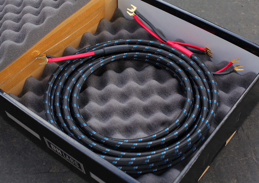 DH Labs Silver Sonic Q-10 Signature  speaker cable 10' with spades