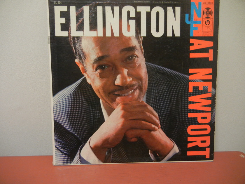 DUKE ELLINGTON  - ELLINGTON AT NEWPORT 1956 FIRST PRESSING; MINT MINUS