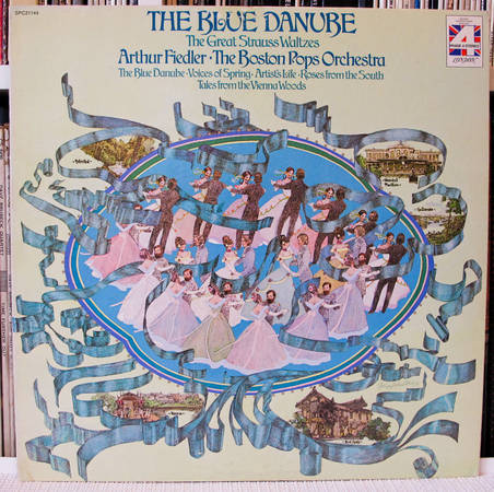 Fiedler -Boston Pops - Strauss Waltzes blue danube london phase 4