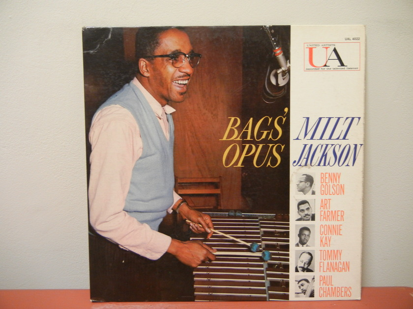 MILT JACKSON - BAGS' OPUS; FIRST PRESSING WITH B GOLSON, A FARMER, C KAY T FLANAGAN P CHAMBERS