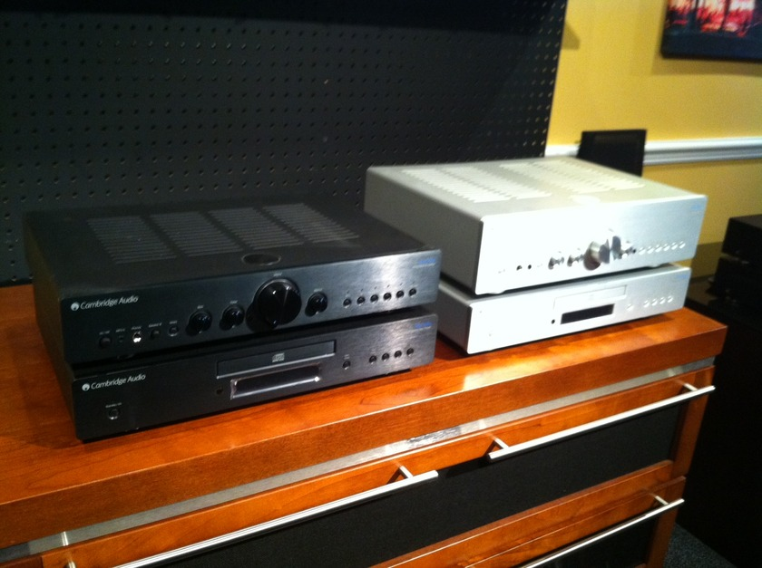 Cambridge Audio 350A and 350C Package As New! Full CA Warranty