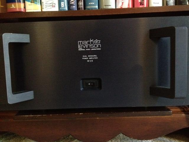 Mark Levinson No 23 Dual Monaural Power Amplifier