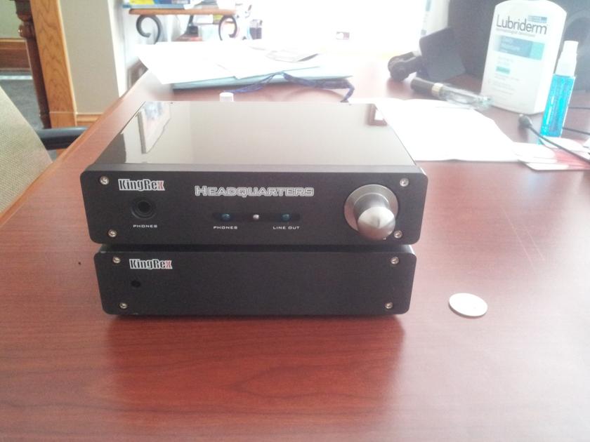 Kingrex Headquarters Headphone Amp Plus line out pre-amp.