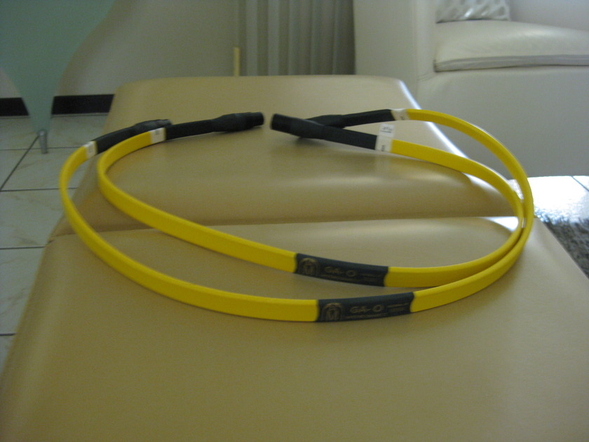 AUDIO METALLURGY  GA-0   , XLR Interconnect, (One Pair)     (1 meter)