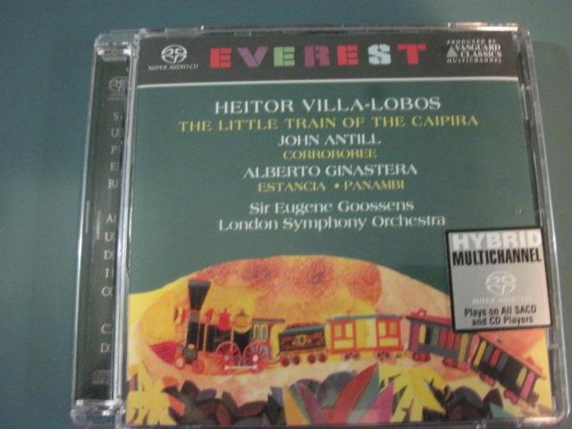"Villa-Lobos ""The Little Train of the Caipira"" - Vanguard Classics SACD. Goossens conducting The London  Symphony Orchestra, like new."