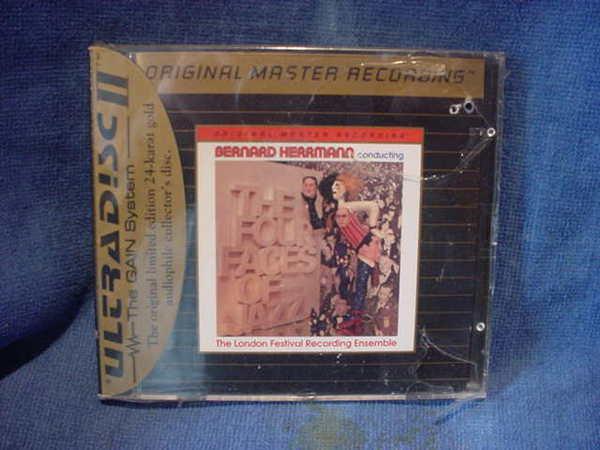 Bernard Herrmann - FOUR faces of jazz mobil fidelity ultra disc 672