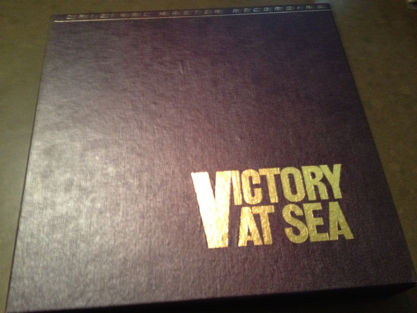 MFSL Mobile Fidelity - Victory At Sea  3 LP set