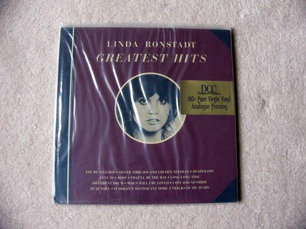 Dcc Linda Ronstadt - Greatest Hits Vol 1 still sealed 180g virgin vinyl