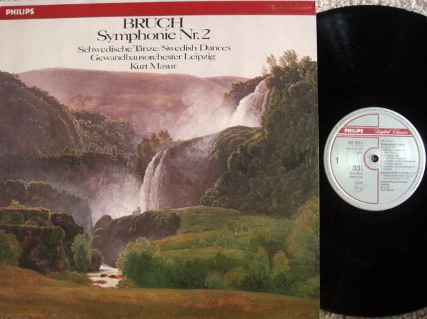 Philips Digital / MASUR, - Bruch Symphony No.2,  MINT!