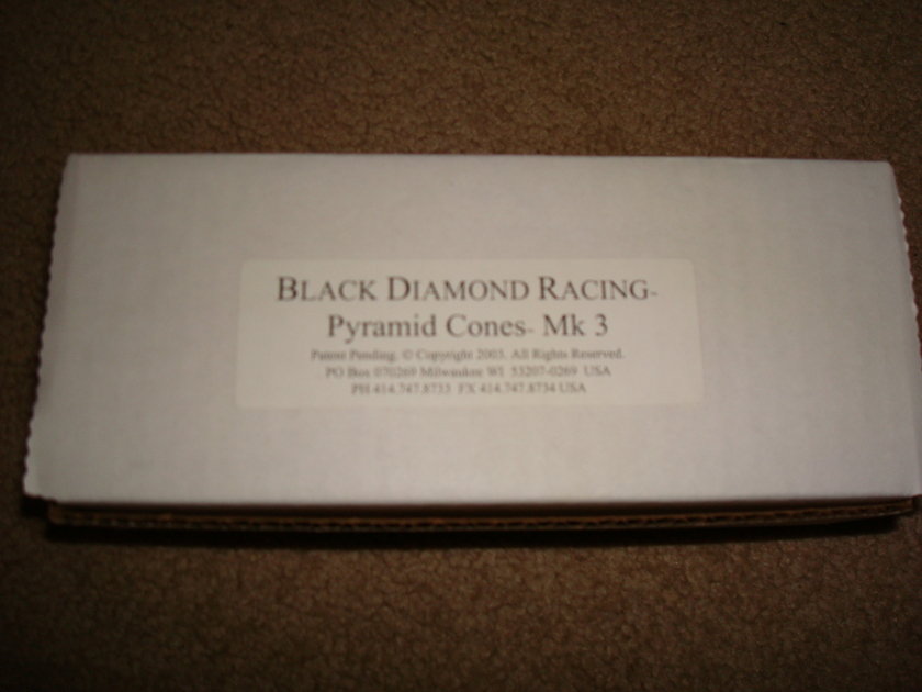 Black Diamond Racing Cones, Mk. 3 Mint, As New Condition