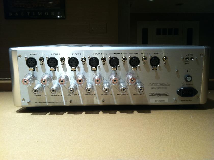 Krell S-1500 7 CH. AMP. Brand New