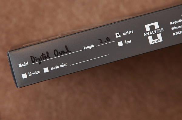 Analysis Plus Digital 2M RCA