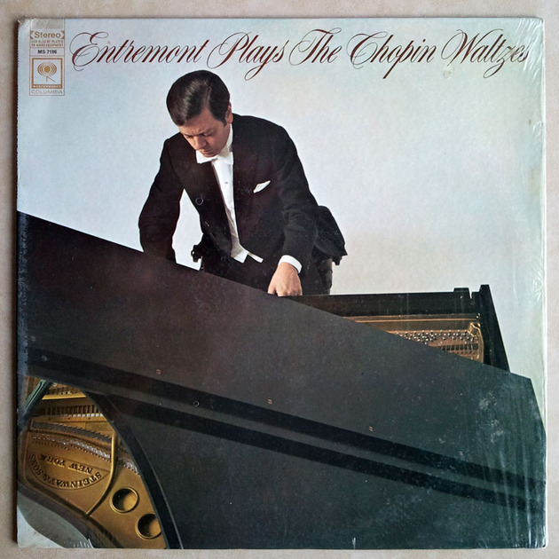 Columbia 2-eye/Philippe Entremont - plays The Chopin Waltzes / NM