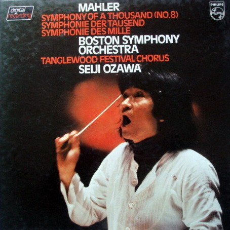 Philips Digital / OZAWA,  - Mahler Symphony No.8 Thousand,  MINT, 2LP Box Set!