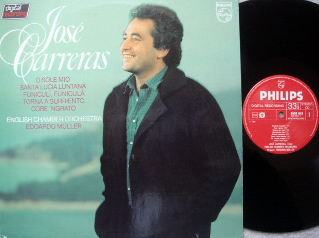Philips Digital / JOSE CARRERAS, - Italian Songs, MINT!