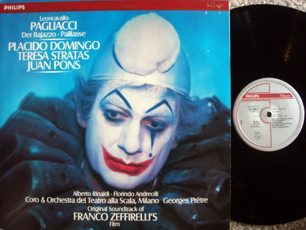 Philips Digital / ZEFFIRELLI-DOMINGO, - Leoncavallo Pagliacci, MINT, 2 LP Set!