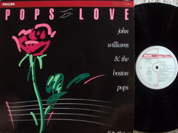 Philips Digital / JOHN WILLIAMS & - Boston Pops Orchestra, MINT!