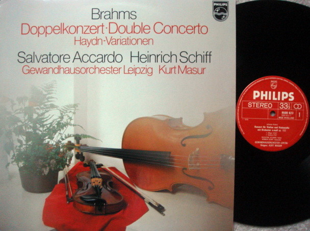 Philips / ACCARDO-SCHIFF, - Brahms Double Concerto, MINT!