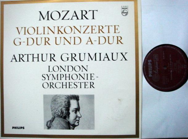 Philips / GRUMIAUX-DAVIS, - Mozart Violin Concertos K.216 & 219, MINT!