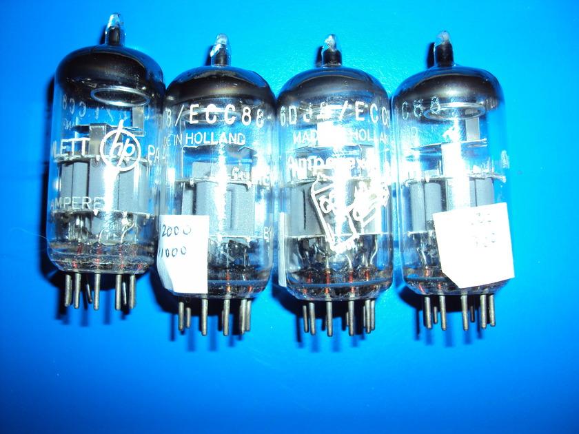 Amperex Bugle Boy ECC88/ 6DJ8 ECC88/ 6DJ8 Very Nice