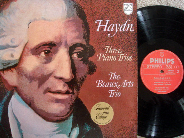 Philips / BEAUX ARTS TRIO, - Haydn Piano Trios No.25-27, MINT!