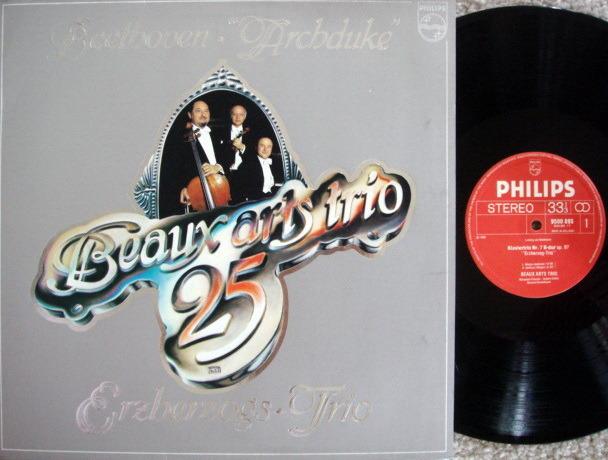 Philips / BEAUX ARTS TRIO, - Beethoven Archduke Trio, MINT!