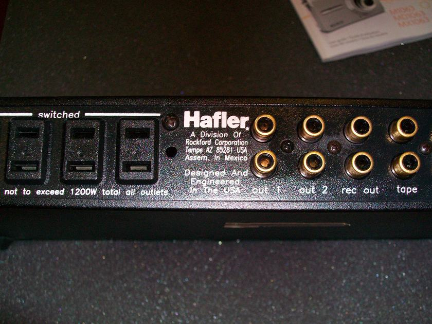 Hafler Series 915 preamp