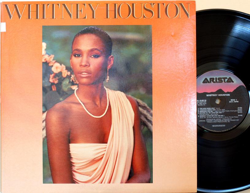 Whitney Houston 1st LP - Self Titled Her classic Arista AL8-8218