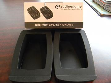 Audioengine A2 Self-Powered Speakers Satin Black (stands included)