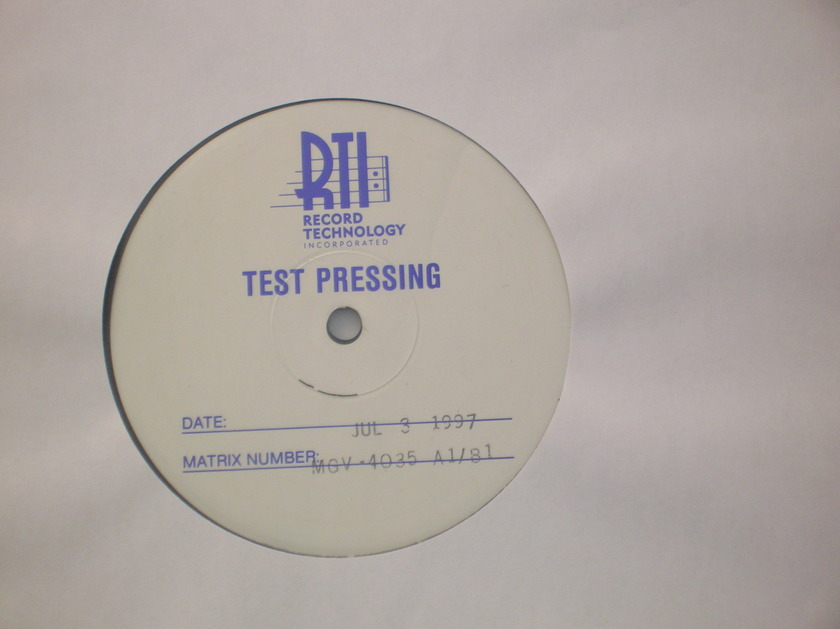 """Louis Armstrong - """"I've Got the World on a String"""" Classic Records Test Pressing"""