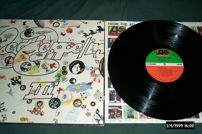 Led Zeppelin - III First pressing lp nm 1841 Broadway