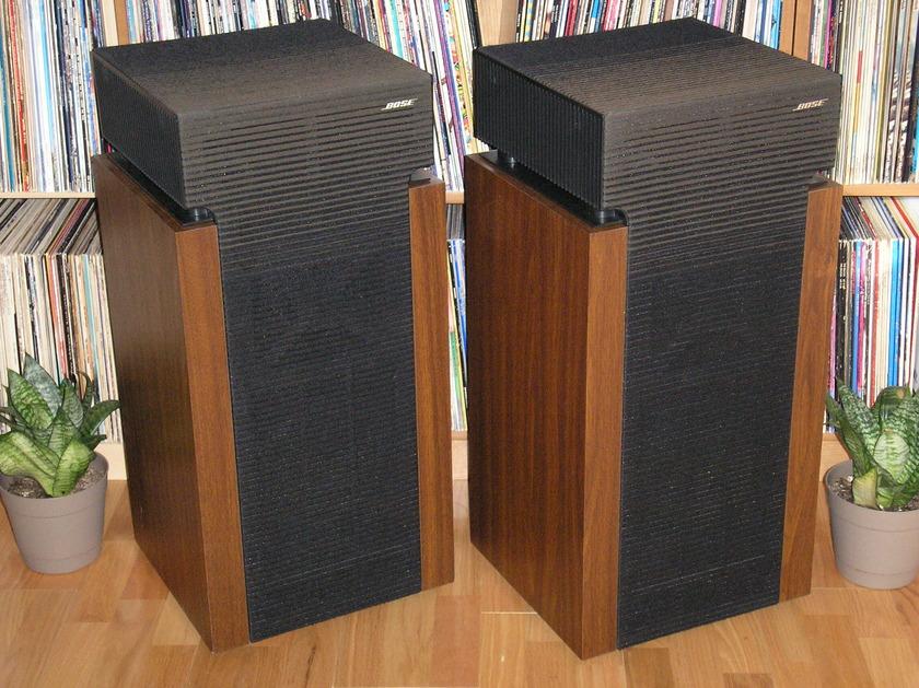 Bose 601 Series II Speakers - Woofers Refoamed - Near Mint !