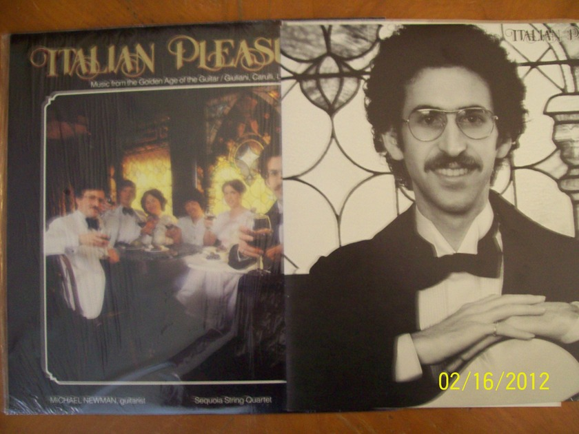Michael Newman, Sequoia String Quartet, Laura Oltman  - Italian Pleasures Sheffield Labs (Lab 16)