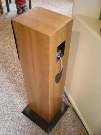 Triad In Room Gold Mini-Monitor w/ cherry stands - reduced