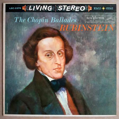 Rca White Dog/Rubinstein/Chopin - Ballades / EX