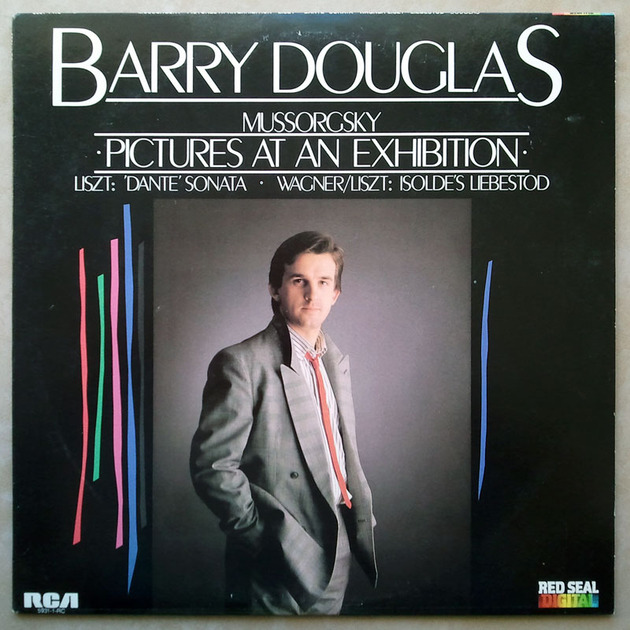 RCA Digital/Barry Douglas/Liszt - Dante Sonata, Isolde's Liebestod, Mussorgsky Pictures at an Exhibition / NM