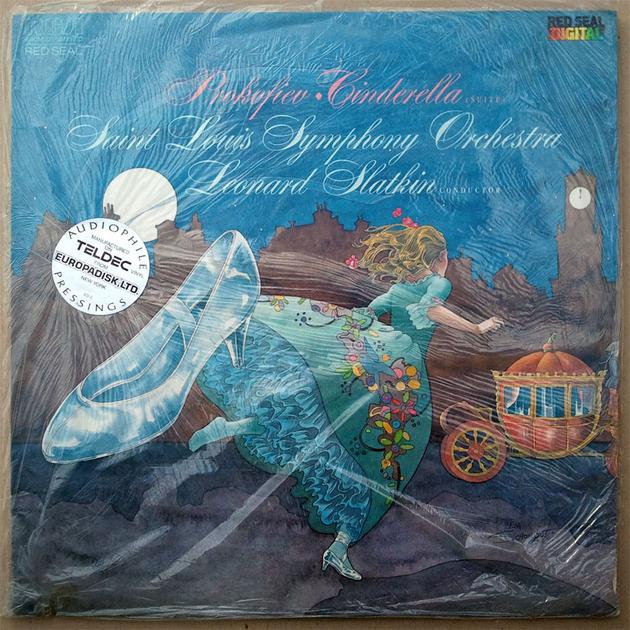 Sealed/RCA Digital/Slatkin/Prokofiev - Cinderella Audiophile Manufactured on Teldec vinyl